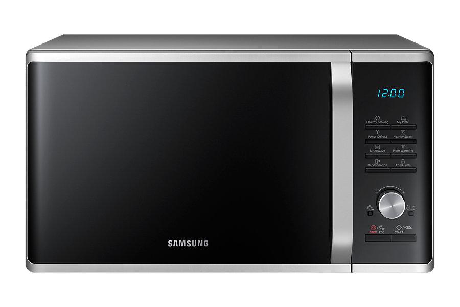 Samsung ไมโครเวฟ แบบอุ่น / ย่าง ขนาด 28 ลิตร MG28J5255 สีดำ