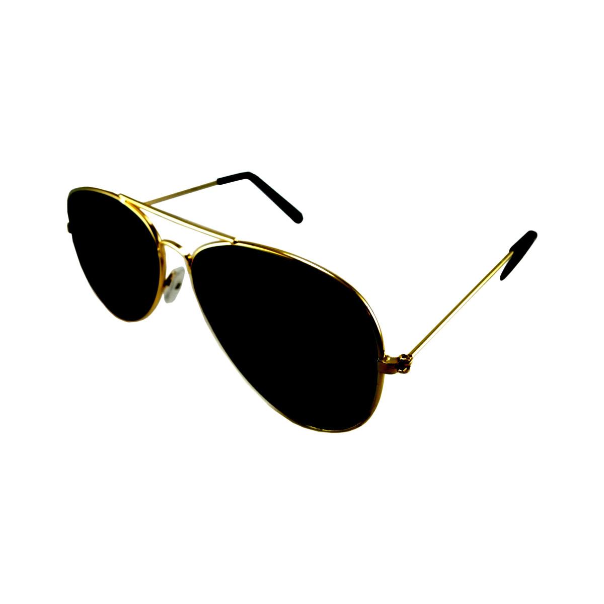 แว่นกันแดด แฟชั่น กรอบทอง