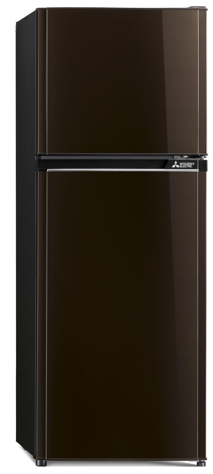 Mitsubishi ตู้เย็น 2 ประตู 8.2Q Flat Design รุ่น MR-FV25J-BR สีิน้ำตาลคอปเปอร์