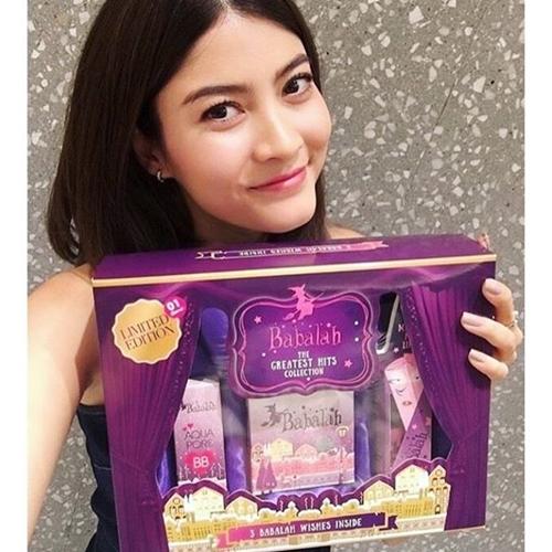 Babalah Beauty Box Set (Limited Edition) ชุดเซ็ทฉลองครบรอบ 1 ปี จาก Babalah แป้งพัฟ..เลือกเบอร์ได้(No.01 / No.02) ประกอบด้วย แป้งพัฟ+บีบี+ลิปสติก