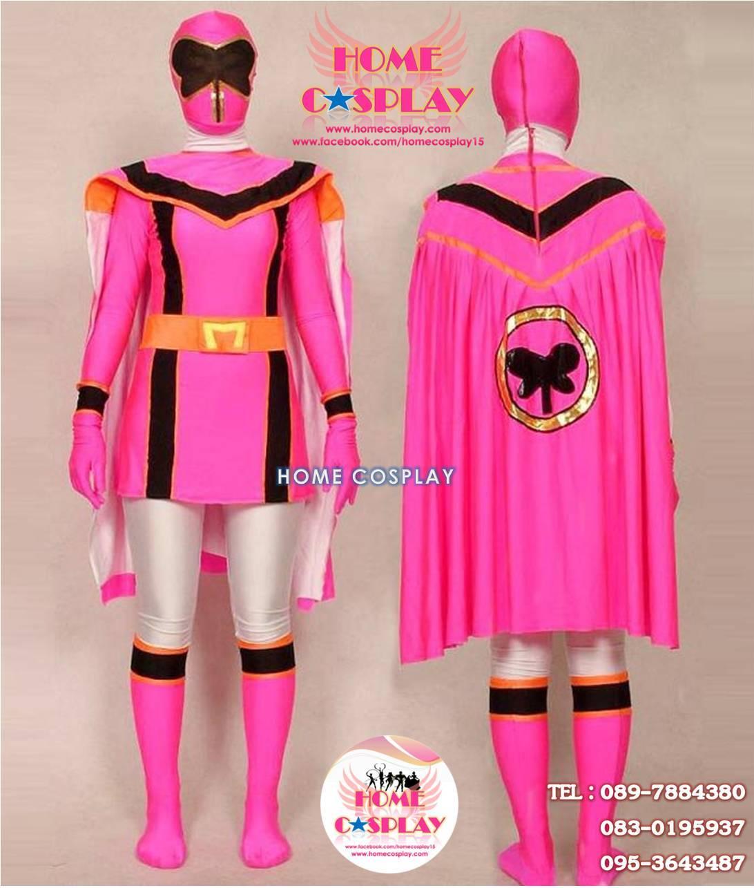 ชุดพาวเวอร์เรนเจอร์ ฟริ้งเรนเจอร์ Power Rangers Mystic Force Pink Ranger