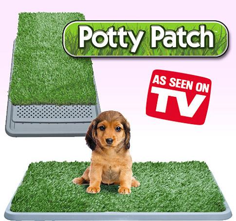 ถาดหญ้าเทียมสำหรับฝึกสุนัขฉี่ potty patch