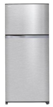 Toshiba ตู้เย็น อินเวอร์เตอร์ 2ประตู 19.9Q รุ่น GR-W67KDZ สีเงิน