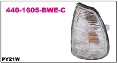 เสื้อไฟหน้า BENZ W123 สีขาว