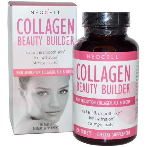 Neocell Collagen Beauty Builder 150 Tablets สูตรคอลลาเจนที่ลงตัวที่สุด สวย ใส ในหนึ่งเดียว เกรดพรีเมี่ยม ได้รับรางวัลระดับโลก ครบสูตรความสวยในหนึ่งเดียว สวยหุ่นดี ลดรอยเหี่ยวย่น บำรุงผม เล็บ ฟัน ครบเครื่องเรื่องความอ่อนเยาว์