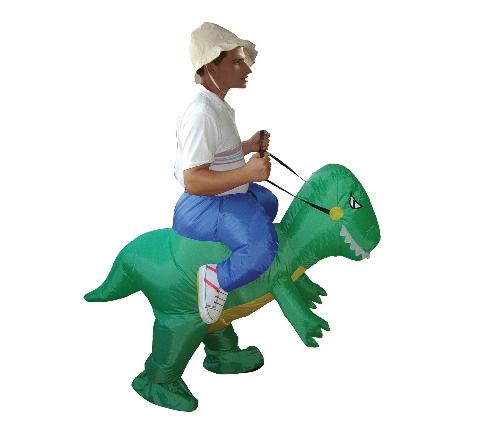 ชุดขี่ไดโนเสาร์เป่าลม