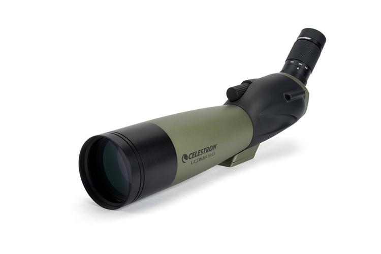 กล้องส่องทางไกล ตาเดียว celestron 20-60x80A
