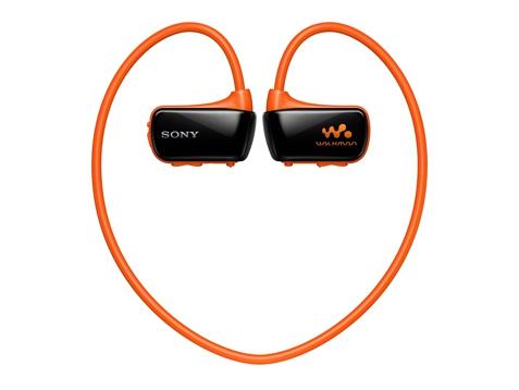 Sony เครื่องเล่น MP3 Walkman กันน้ำ รุ่น NWZ-W273S สีส้ม