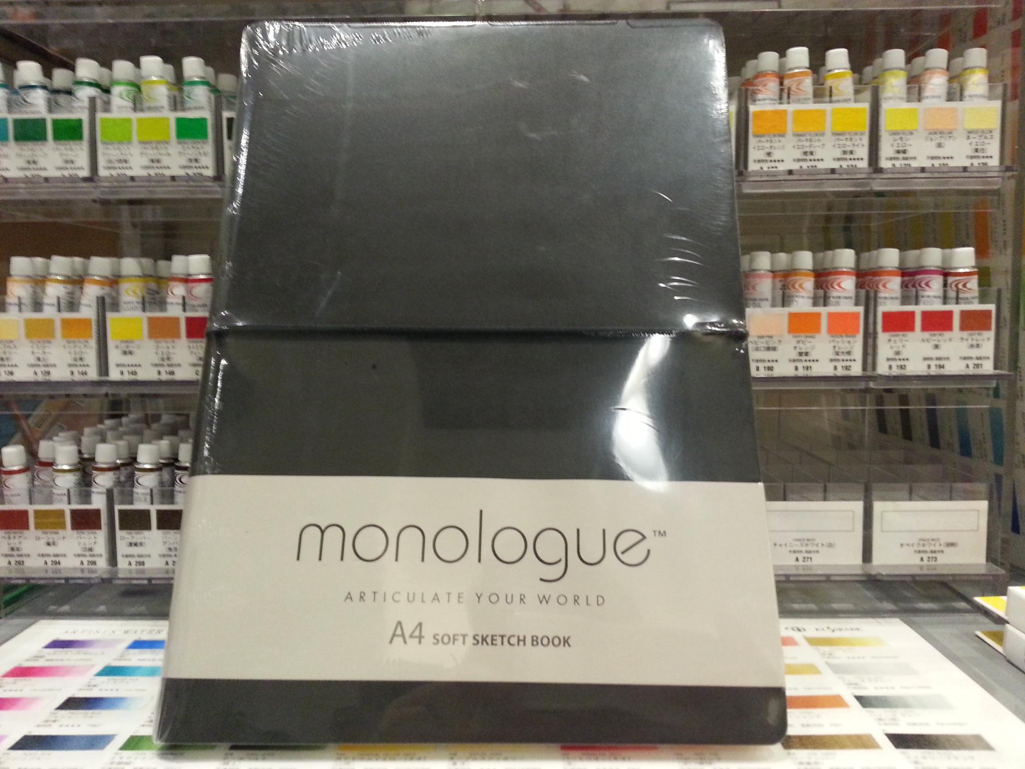 สมุดสีน้ำMonologue Soft Sketch A4 200g