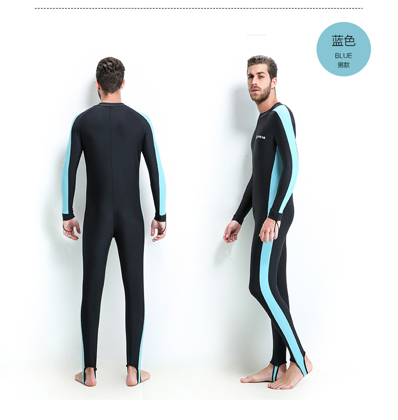 ชุดว่ายน้ำหรือใส่ดำน้ำผู้ชาย 5xl รอบอก 46-50 เอว 38-44สะโพก 46-54ยาว 53 นิ้วค่ะ ซิปหน้า เนื้อผ้าดียืดได้เยอะค่ะ