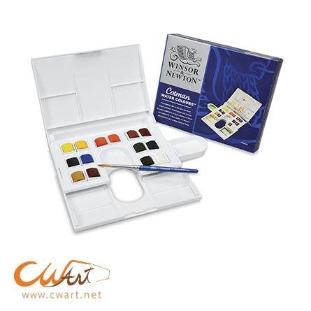 ชุดสีน้ำWinsor Cotman Compact half,14สี
