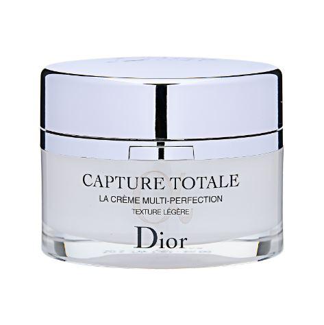 ลด 50% Christian Dior Capture Totale La Creme Multi-Perfection Creme Light Texture 50ml. (No Box) ครีมบำรุงผิว ลดเลือนริ้วรอย คืนความแน่น กระชับเข้ารูป ผิวเนียนละเอียดน่าสัมผัส สูตรใหม่ เนื้อเจล-ครีมน้ำหนักเบาราวอากาศ ผสานไว้ซึ่งความสดชื่น สบายผิว มอบผิวท