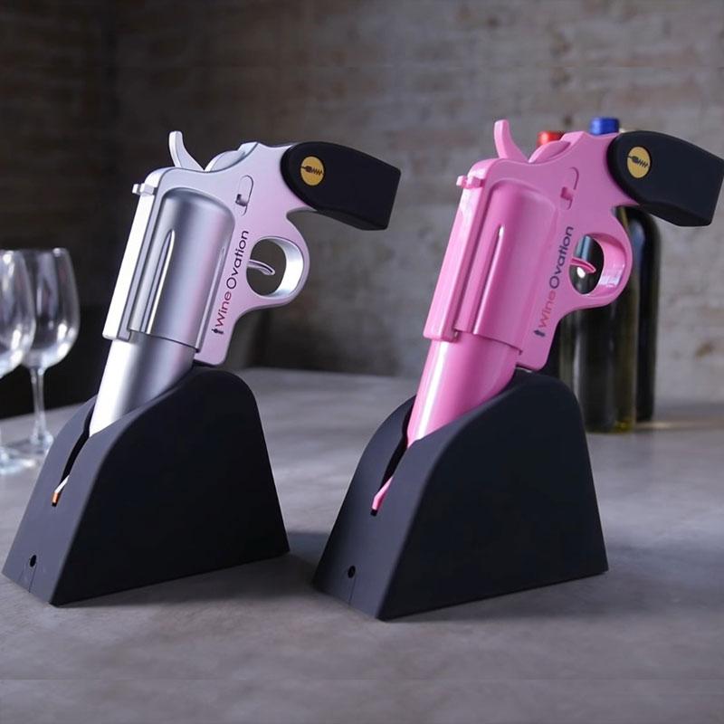 ปืนเปิดขวดไวน์ไฟฟ้า wineovation