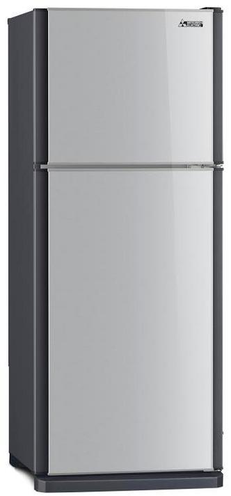 Mitsubishi ตู้เย็น 2 ประตู ขนาด 8.5 คิว รุ่น MR-F26 สีเงิน
