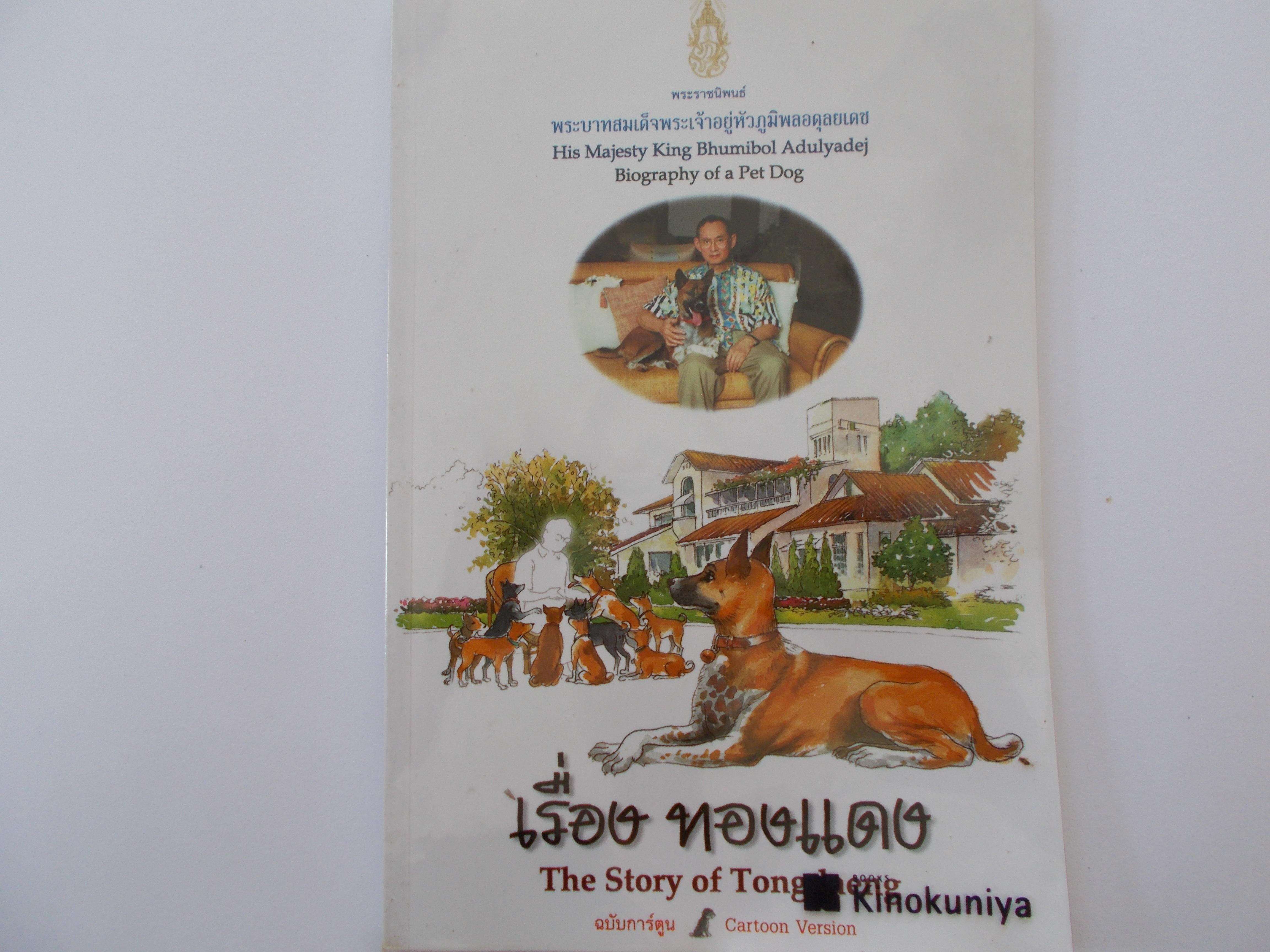 พระราชนิพนธ์ เรื่่องทองแดง The Story Of Thongdaeng ฉบับการ์ตูน