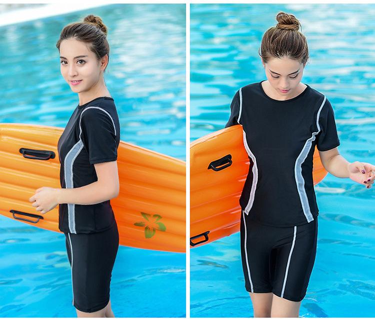 ชุดว่ายน้ำ 2xl เสื้อ+กางเกง รอบอก 32-38 เอว 26-32 สะโพก 36-44 นิ้ว มีหมวกด้วยนะคะ ผ้าเนื่อดีมากๆค่ะ
