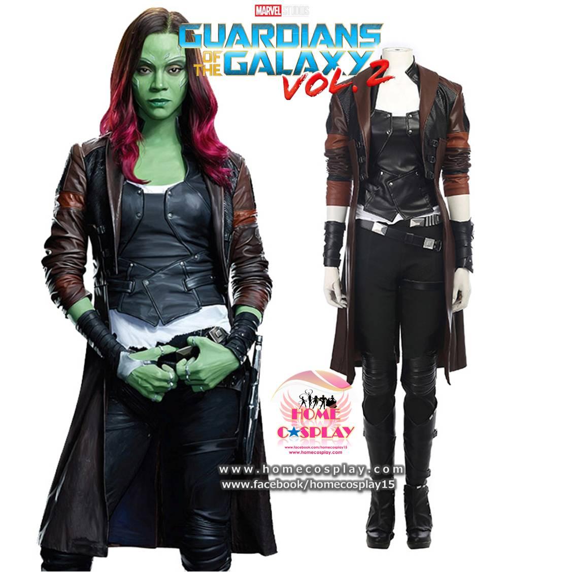 Super Premium Set: #2 ชุดกาโมรา Gamora - Guardians Of The Galaxy 2