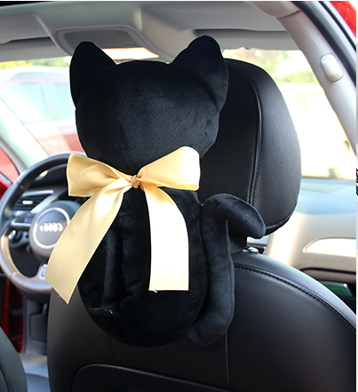 กล่องกระดาษทิชชูตุ๊กตาแมว
