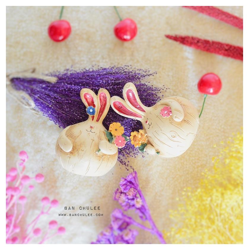 Fat Rabbits Resin ตุ๊กตากระต่ายอ้วน งานเรซิน