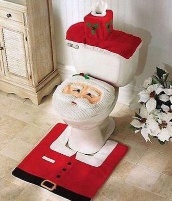 ชุดคลุมชักโครกซานตาครอส