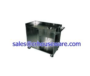 รถเข็นเคลียร์เศษอาหาร 002-UC-095,catering serving Carts,Portable Kitchen Cart,xe dịch vụ ăn uống,餐飲服務車,រទេះសេវាកម្មម្ហូបអាហារ,kereta sorong perkhidmatan Catering