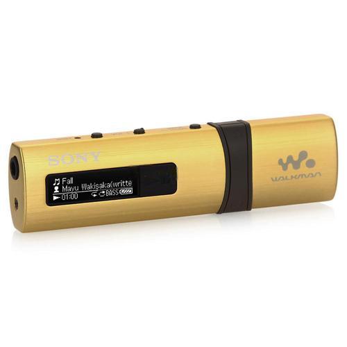 Sony เครื่องเล่น MP3 Walkman 4GB รุ่น NWZ-B183F สีเหลือง