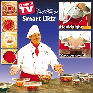 ชุดฝาสูญญากาศ Chef Tony'S Smart Lidz