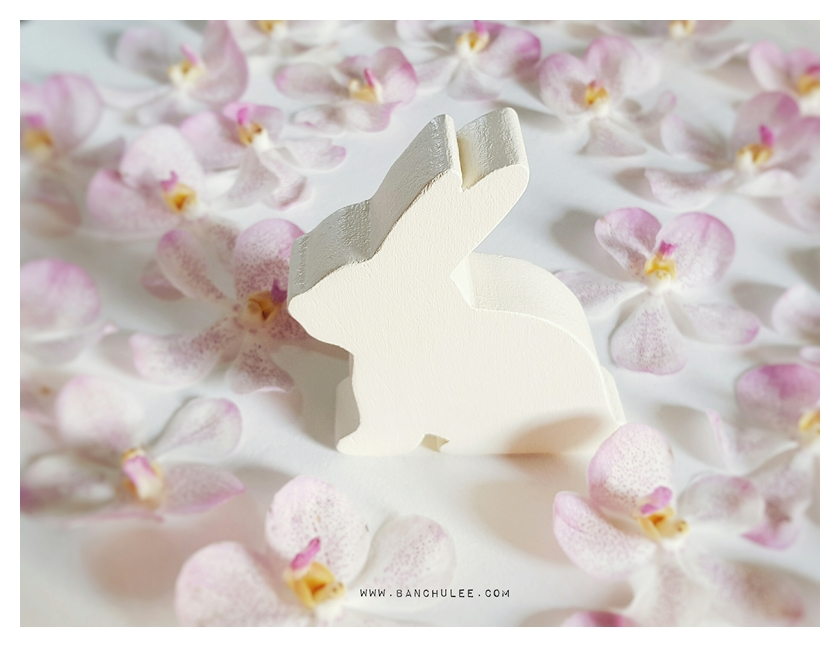 Wooden Bunny - Shredded Wheat