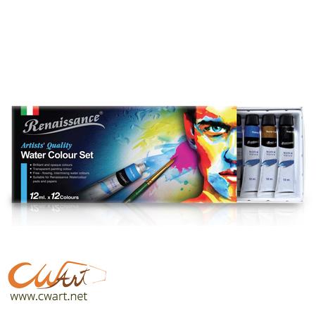 สีน้ำRenaissance x12สี,12ml