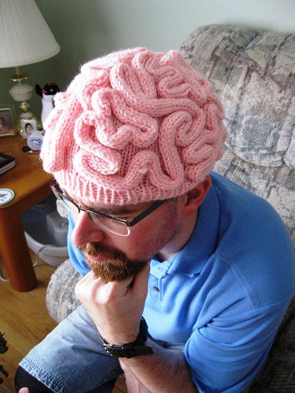 หมวกไหมพรมหัวสมอง