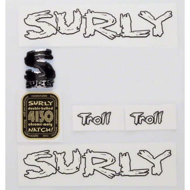 Surly Troll Decal Set w/Headbadge