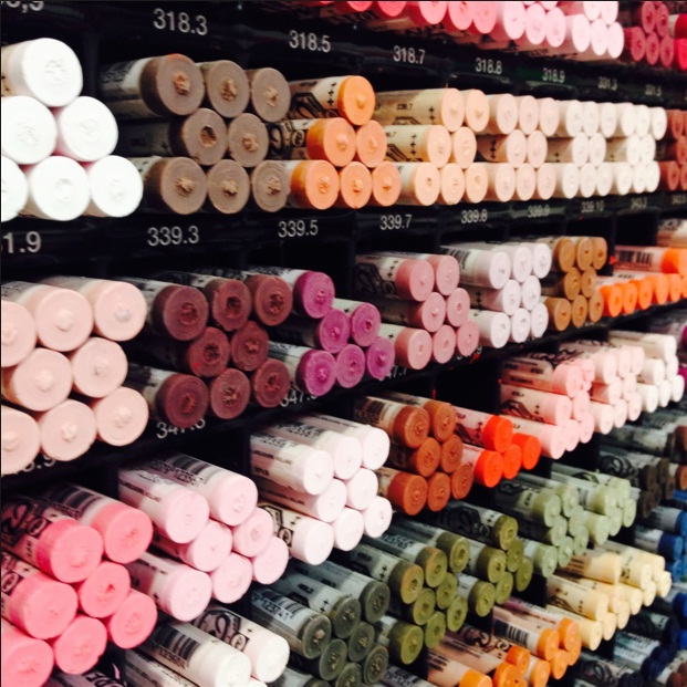 สีชอล์คRembrandt Soft Pastel แท่งเดี่ยว,โทนร้อน(Warm Tone)*ซื้อ12แท่งแท่งละ 60บาท คละสีได้*