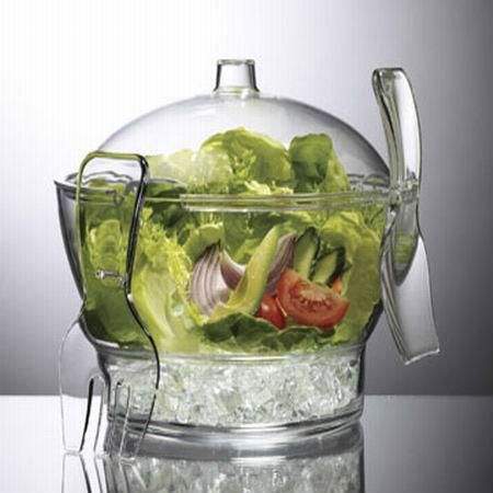 ชามใส่ผักสลัด cold bowl on ice