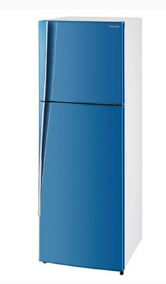 Toshiba ตู้เย็น 2ประตู 6.8Q รุ่น GR-T21KT สีฟ้า