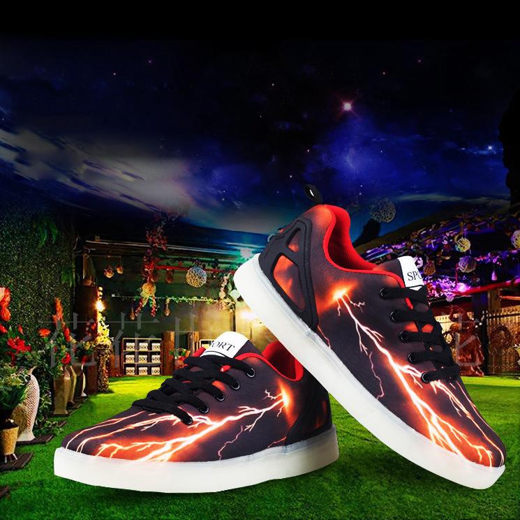 รองเท้า THE FLASH LED