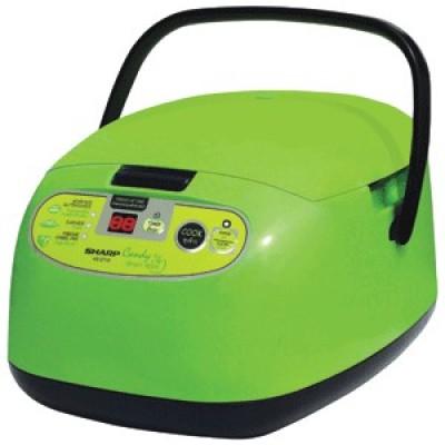 Sharp หม้อหุงข้าว ดิจิตอล 1ลิตร รุ่น KS-ZT10 Candy สีเขียว