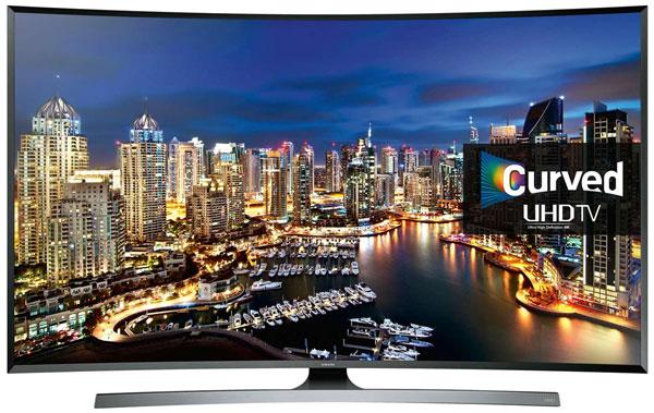 Samsung 3D Smart Digital UHD Curved LED TV ขนาด 48 นิ้วรุ่น UA-48JU7500