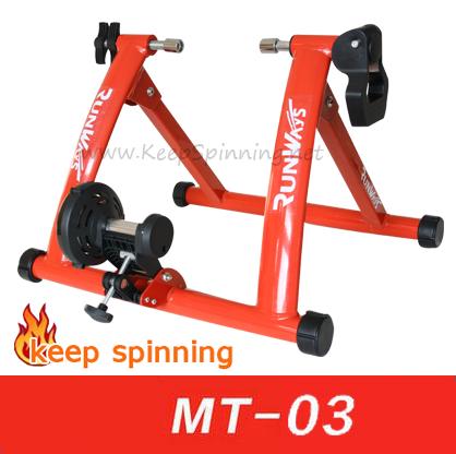 เทรนเนอร์จักรยาน รุ่น MT-03 ปรับความหนืด Manual