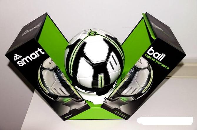ลูกบอลอัจฉริยะ Adidas MiCoach Smart Ball