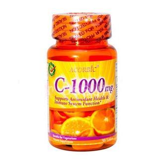 ACORBIC C-1000 mg.มีฤทธิ์ในการเป็นสารแอนตี้อ๊อกซิแดนท์ สามารถป้องกันการทำลายเซลจากอนุมูลอิสระได้เป็นอย่างดี หากทานคู่กันกับ กลูต้าฯ จะทำให้ผิวขาวเร็วขึ้นค่ะ เพราะจะช่วยในเรื่องของการดูดซึมได้ดียิ่งขึ้น