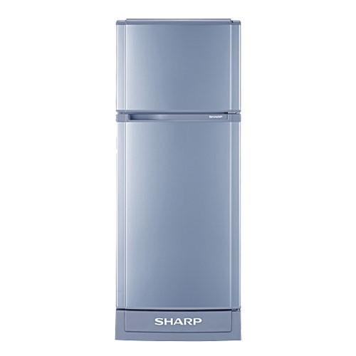 Sharp ตู้เย็น 2 ประตูความจุ 5.9 คิว รุ่น SJ-C19SS (สีเงิน)