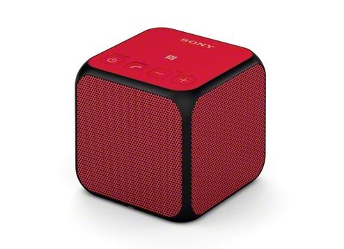 Sony ลำโพงพกพา Bluetooth® แบบไร้สาย รุ่น SRS-X11 (สีแดง)