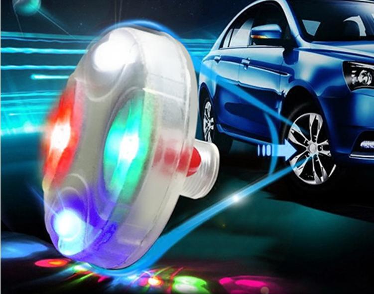 จุกลมยางรถยนต์อัจฉริยะ LED