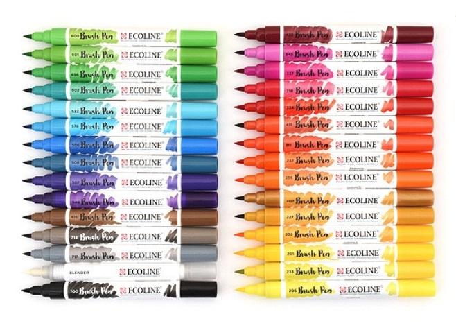 ปากกาพู่กันEcoline (Ecoline Brush Pen)