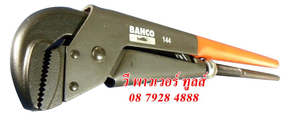 """BAHCO 144 ประแจจับแป๊ป ขาคู่ ขนาด 29"""" จับได้ 4.3/8"""" (110มม.)"""