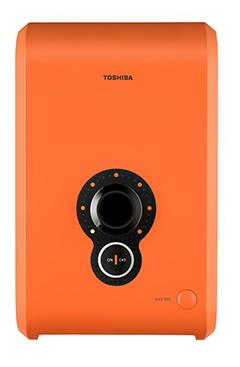 Toshiba เครื่องทำน้ำอุ่น ขนาด 3,500 วัตต์ รุ่น WH-3511G สีส้ม