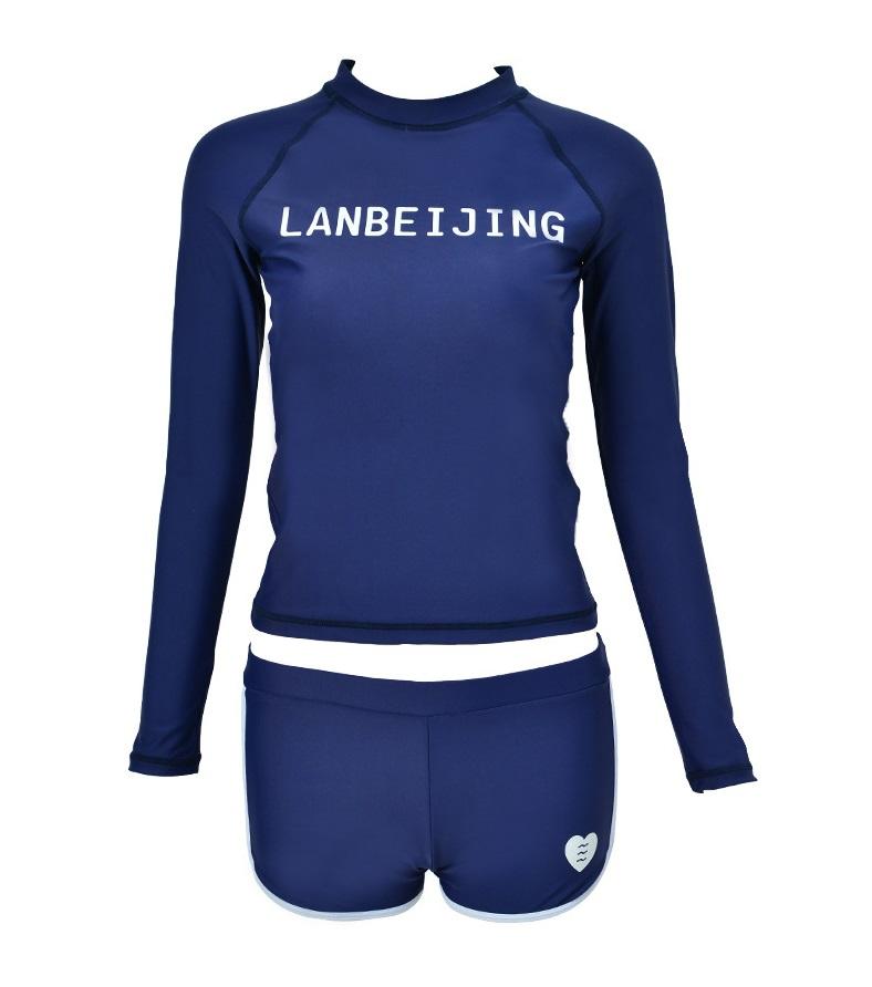 ชุดว่ายน้ำแขนยาวกัน uv สีกรม รอบอก34-40 รอบเอว 26-30 สะโพก 36-42 นิ้ว ตัวเสื้อยาว23 กางเกงยาว 9นิ้วค่ะ ผ้าดี งานสวยค่ะ