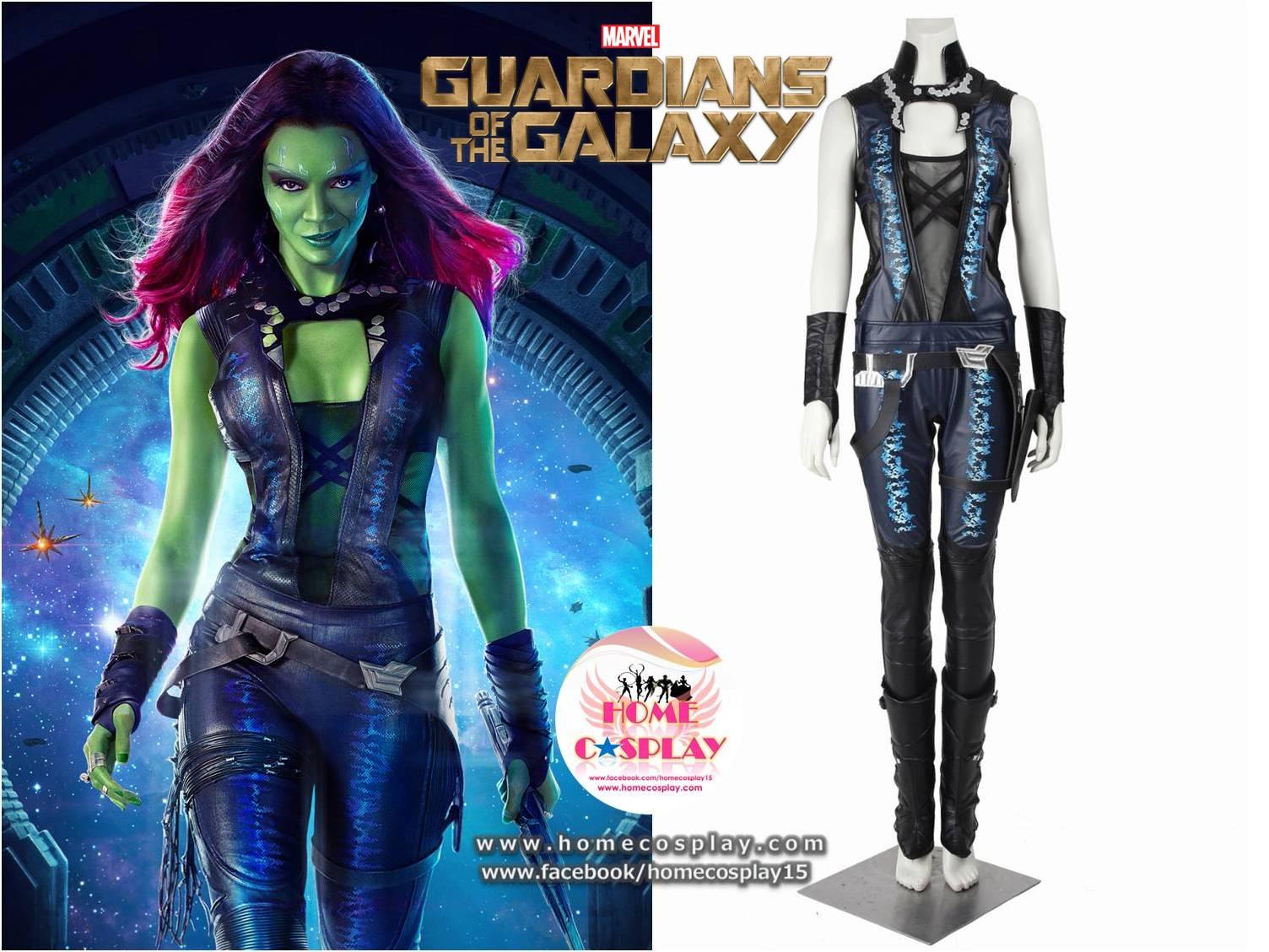 Super Premium Set: #1 ชุดกาโมรา Gamora - Guardians Of The Galaxy