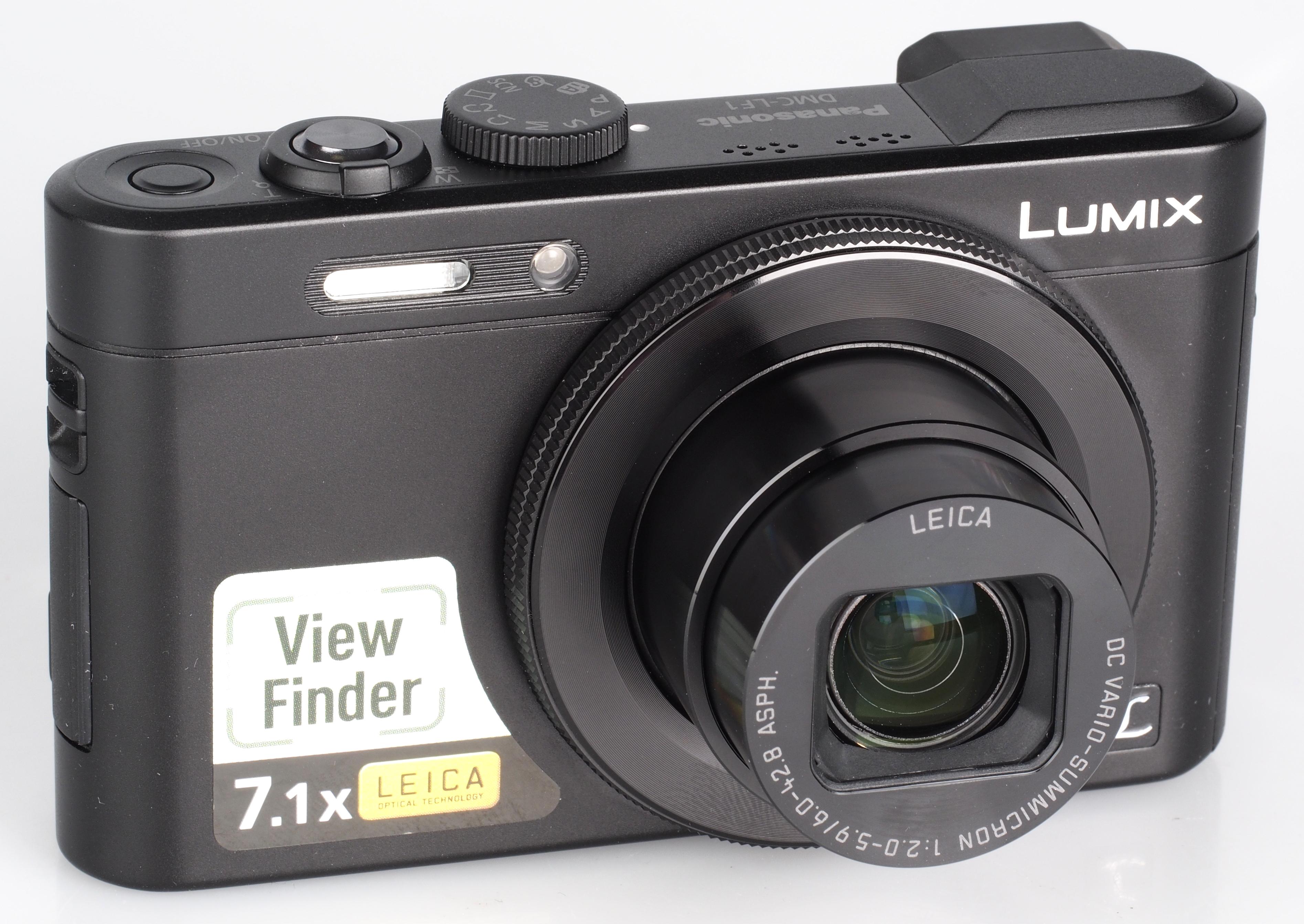 PANASONIC Digital Camera ความละเอียด 12 ล้าน รุ่น Lumix DMC LF1 สีดำ