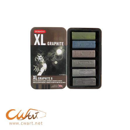 ชุดกราไฟต์Derwent XL Graphite x6สี
